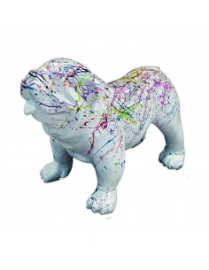 SCULPTURE   ENGLISH DOG 45 cm