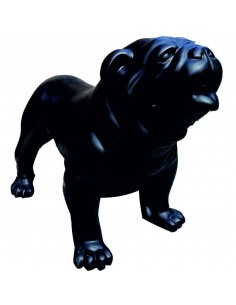SCULPTURE DOG BOULEDOGUE ENGLISH 74 cm