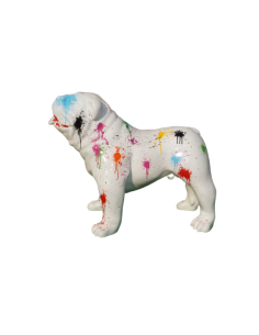 SCULPTURE DOG RESIN  English dog 74 CM design