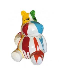 Sculpture Résine Hippo 50...