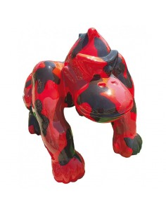 SCULPTURE  RESIN   DONKEY 37 CM