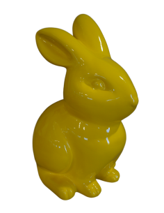 SCULPTURE  RESIN   RABBIT 50 CM