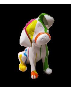 SCULPTURE DOG RESIN  DALMATIAN 37 CM design