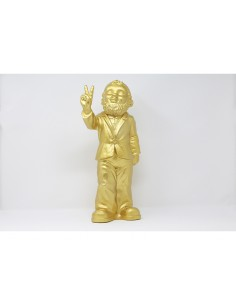 SCULPTURE VICTORY GNOME  by Ottmar Horl 40.50 cm