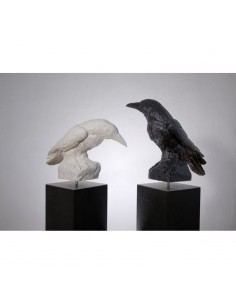 SCULPTURE  CROWS by Ottmar...