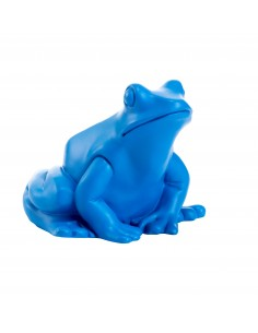 SCULPTURE  FROG KING by Ottmar Horl 10 cm